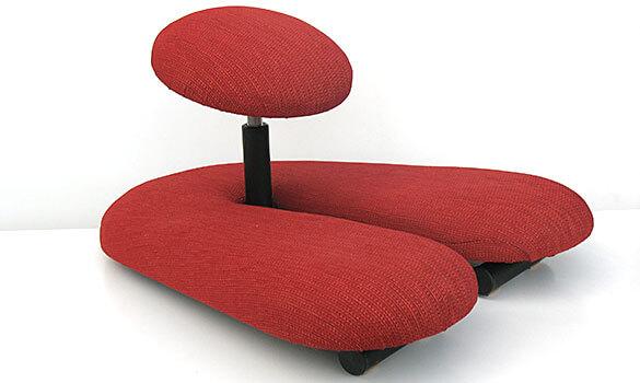 Ein Chi Meditationsstuhl, höhenverstellbar für eine entspannte Meditationszeit