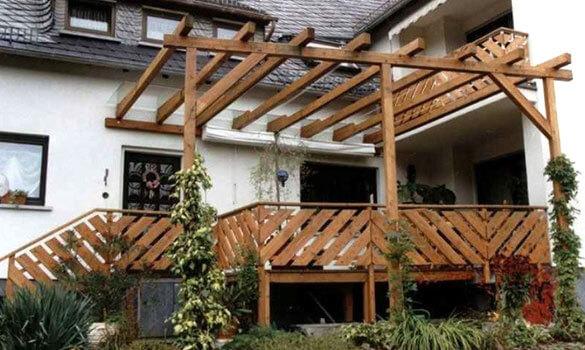 Erhohte Terrasse Creative Woodworks