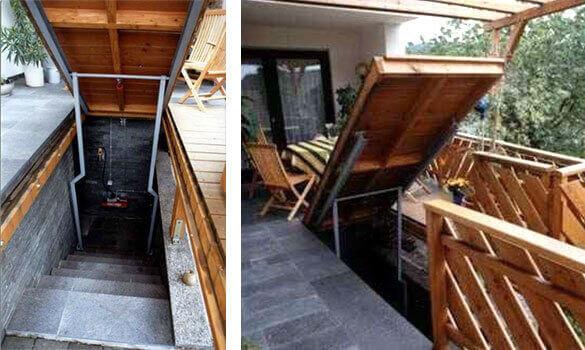 erh hte terrasse creative woodworks. Black Bedroom Furniture Sets. Home Design Ideas