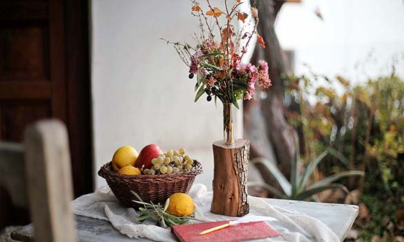 Ikebana Flower Vase – Wabi Sabi
